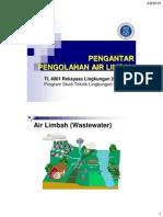 3 Pengantar Pengolahan Air Limbah