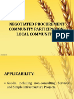 NEGOTIATED PROCUREMENT- COMMUNITY BASED PARTICIPATION.ppt