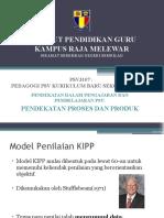 pendekatan proses & produk