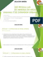 Ley Que Regula Las Concesiones Mineras en Areas