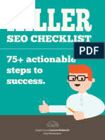 Killer SEO Checklist e Book