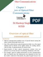 Fiber optics communication