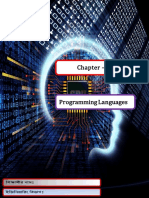 Chapter-01 Programming Languages