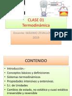 Clase 01 Termodinamica