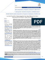 Obesidade Infantil - Análises Antropométricas, Bioquímicas, Alimentares e Estilo de Vida