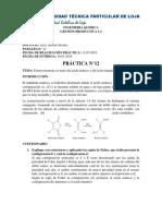 Práctica 12 GP 1.2 Esteroisomería