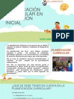 3 Planificación Curricular en Educacion Inicial