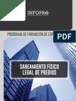 Broshure - Programa de Formación de Especialistas en Saneamiento Fisico Legal de Predios