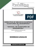 RESOLUCION DE CONTRALORIA N 122-2016-CG
