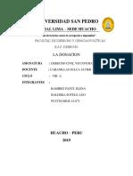 Monografia1 La Donacion