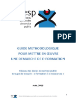 Guide Rapport E-Formation