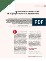 Hacia el aprendizaje colaborativo