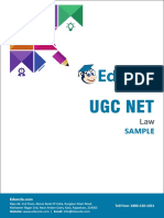Ugc Net_law Psp-2018