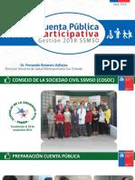 SSMSO Cuenta Publica 2018