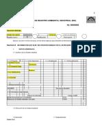 007 Formulario Registro Ambiental Industrial1