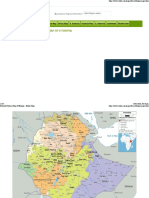 Detailed Political Map of Ethiopia - Ezilon Maps