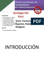 transicion cretaceo - palégeno
