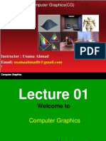 Cg Lecture 01