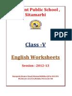 V English-Worksheets Session 2012 2013 (1)