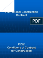 International Cons Contract