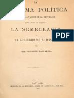 LASTARRÍA, Juan Victorino (1817-1888). La Reforma Política_f217b60ad19dc1ecc714f67264cb5789