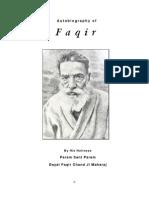 Autobiography of Faqir Chand