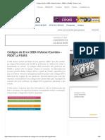 Códigos de Erro OBD-II Motor_Cambio – P0001 a P3493 _ Doutor Carro