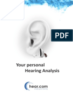 Your Hearing Analysis in d