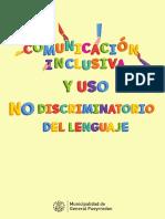 Comunicación inclusiva y uso no discriminatorio del lenguaje