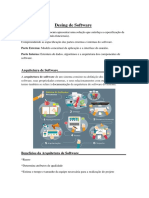 Resumo Desing de Software - Swebok (UNIGRAN)