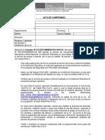 Acta de Compromiso 10.05.2019