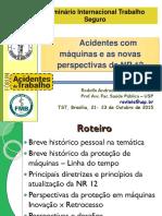 NR12 - Acidentes Com Máquinas e as Novas Perspectivas Da NR 12-1