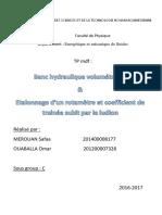 banc+rotamètre