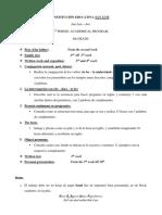 3rd Periodo Program. 6º