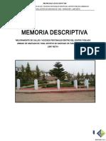 Memoria Descriptiva Rev 4.3