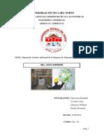 Manual Del Sga Empresa Marcseal s.a.