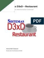 Manual d3xd Restaurant