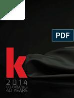 2014 Kershaw Knives Catalog