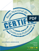 Secertificaçãotec Rede Certific Documento Orientador