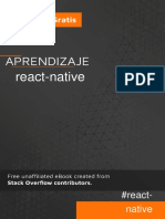 Aprendizaje react-native