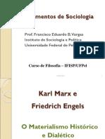 MARX O Materialismo Histórico e Dialético (1)