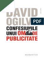David Ogilvy - Confesiunile Unui Om de Publicitate