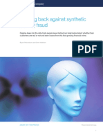 Fighting Back Against Synthetic Identity Fraud