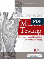 Daniels and Worthingham's Muscle Testing - Techniques of Manual Examination and Performance Testing, Saunders, Dale Avers, Marybeth Brown, Elsevier, 10th Edition 2019-TLS.pdf