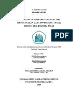 PERENCANAAN PONDASI TIANG PANCANG MENGGUNAKAN DATA SONDIR (CPT) UNTUK GEDUNG BPJS JAKARTA PUSAT.pdf