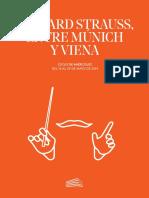 Richard Strauss Entre Múnich y Viena