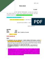 Recibo Agua Dpto 302 Nestor Fernandez