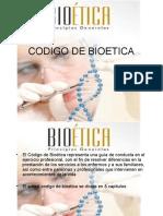 Codigo de Bioetica