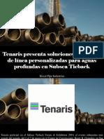Hocal Pipe Industries - Tenaris Presenta Soluciones de Tubería de Línea Personalizadas Para Aguas Profundas en Subsea Tieback