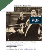 Primer Gobierno de Alan García Peréz